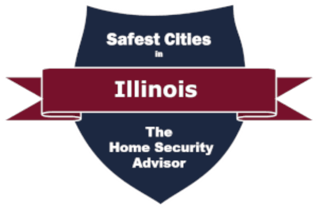 Safest-Cities-in-Illinois Badge