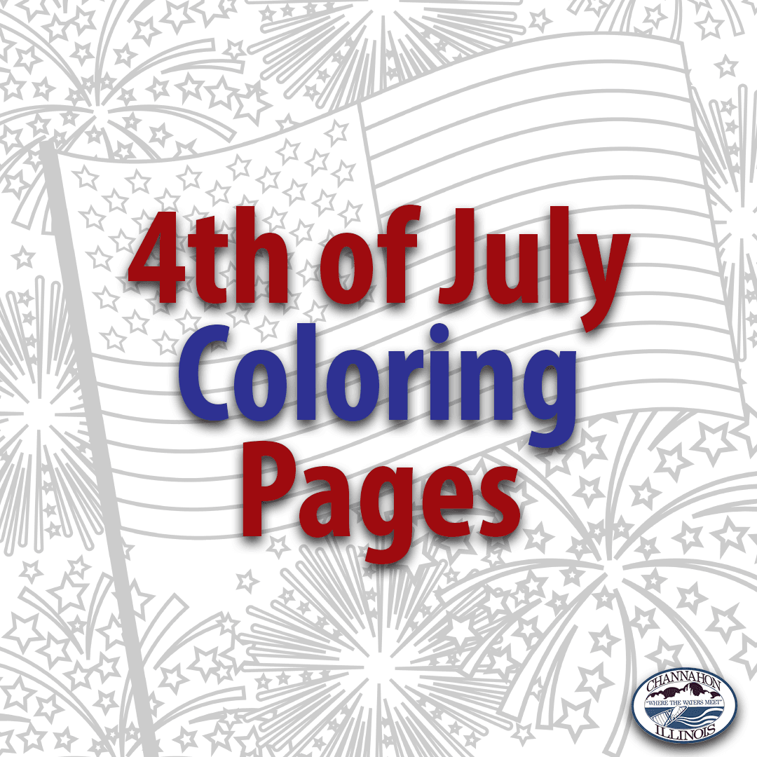 4th of July Coloring Pages News Flash
