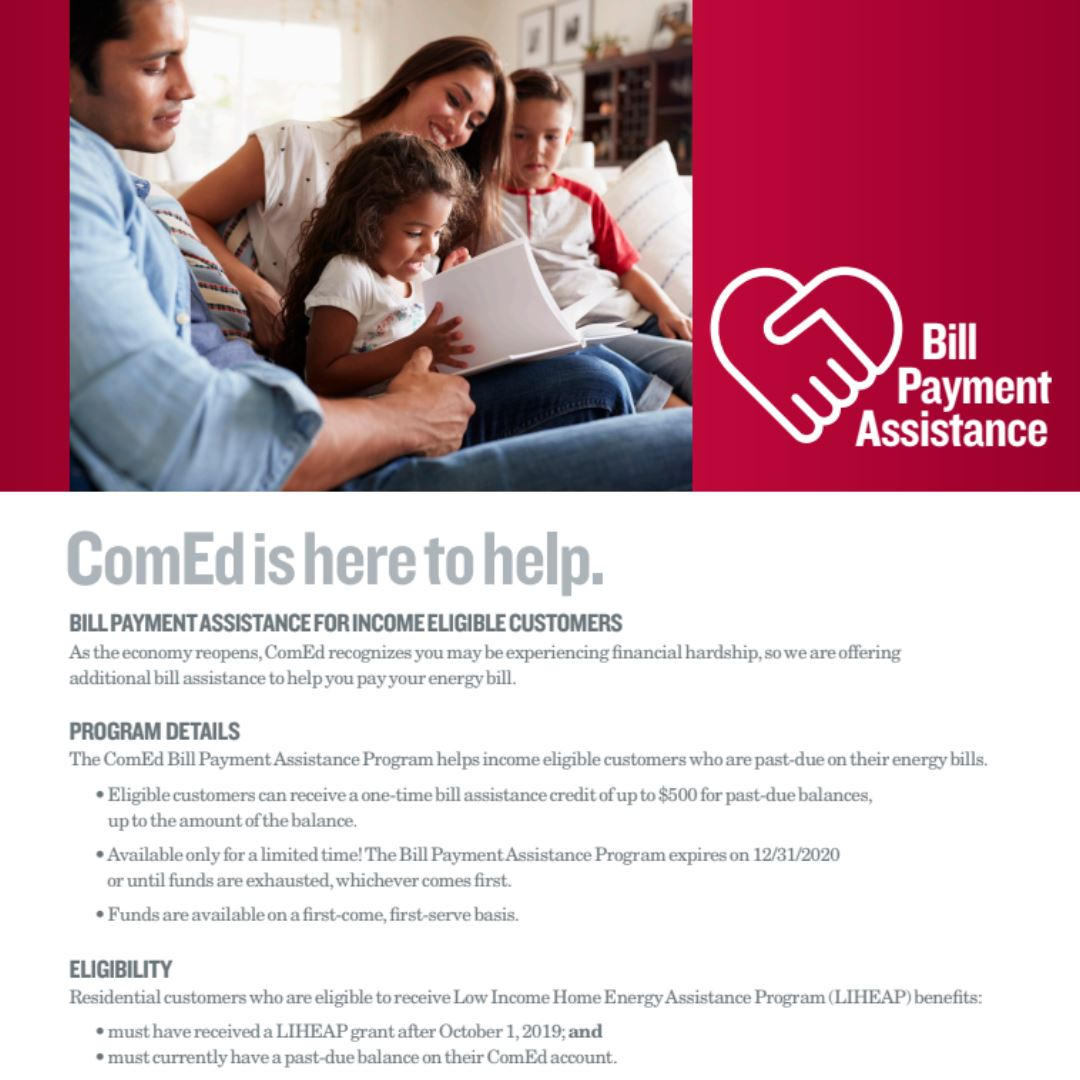 ComEd Bill Payment Assistance Program