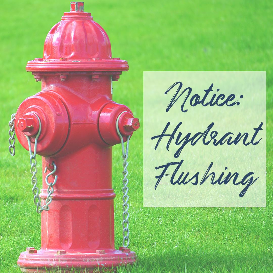 Hydrant Flushing. Photo Credit: Sawinery.net