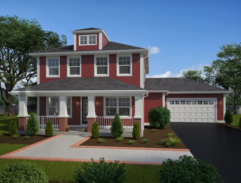 Channahon Town Center Model Home