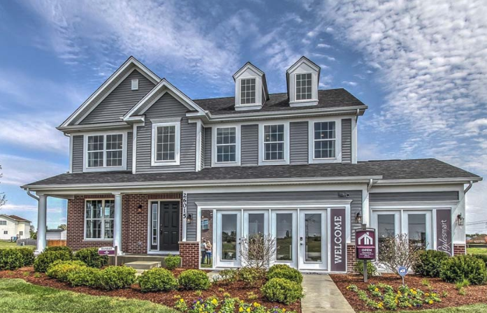 Hunters Crossing Model Home