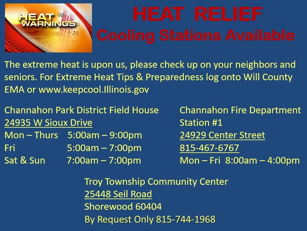 extreme heat 2019 cooling centers