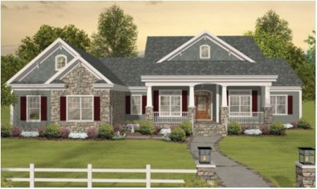 GLH Primrose Model Home Illustration
