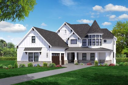 DJK Annabella Model Model Home Illustration